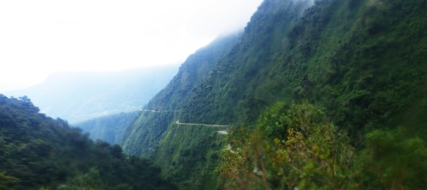 The 'Death Road'; Cycling on The World Most Dangerous Road, Bolivia