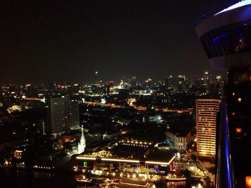 Rooftop Sky Terrace, Millenium Hilton Bangkok